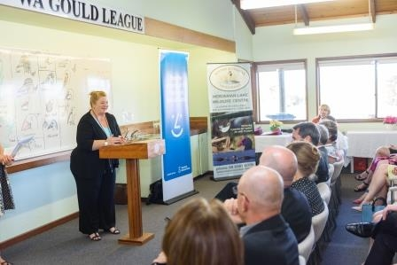 The Shadow Minister for Education, the Hon. Sue Ellery, MLC, addressing attendees at the 2015 Celebration Event